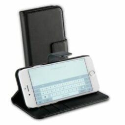 Vivanco Flip Case iPhone 6/7/8/SE2020 musta