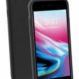 Vivanco Gracious Silicone Case iPhone 6/7/8/SE2020 musta