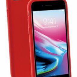 Vivanco Gracious Silicone Case iPhone 6/7/8/SE2020 punainen
