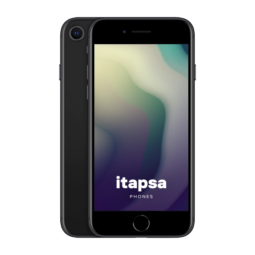 iPhone SE 2020 64Gt Musta