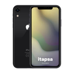 iPhone Xr 128Gt Musta
